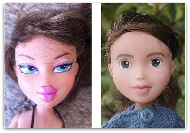 Barbie trasformare il viso per renderle pi belle - Barbie colorazione pagine libero ...